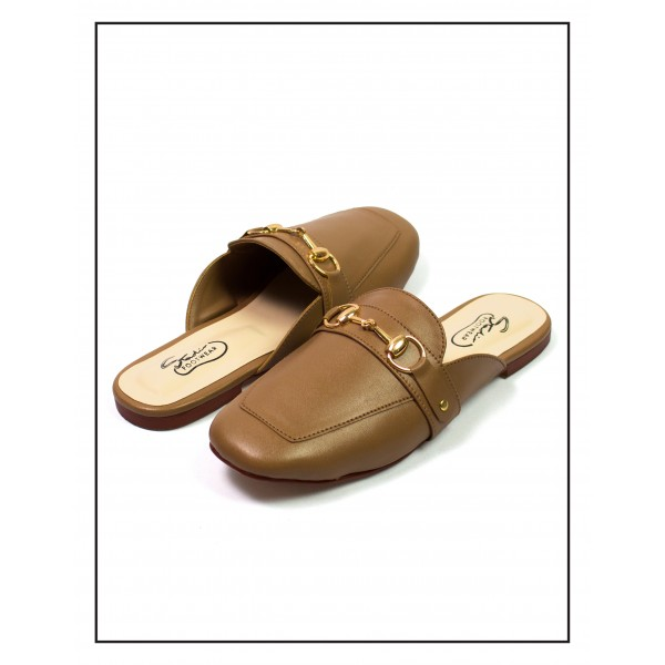 Maye Brown Backless Loafer For Women By Studio Foo...