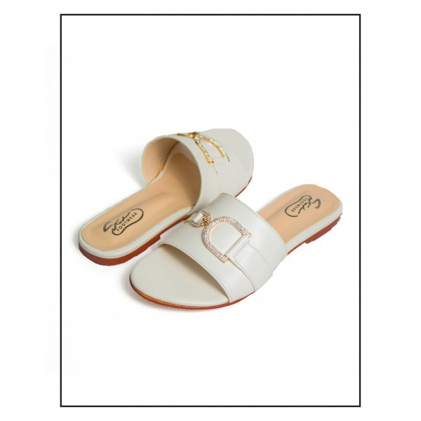 """""""Magnolia"""" White D Stud Upper With Comfo..."""