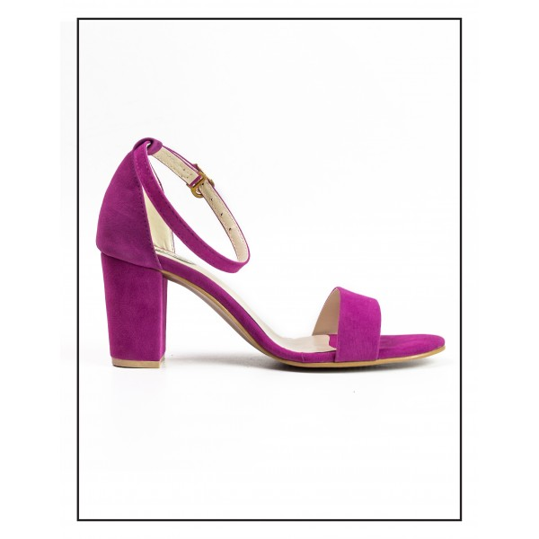 """Clara"" Magenta High Heels Sandals For Women"